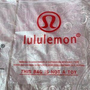 Lululemon Plastic bag